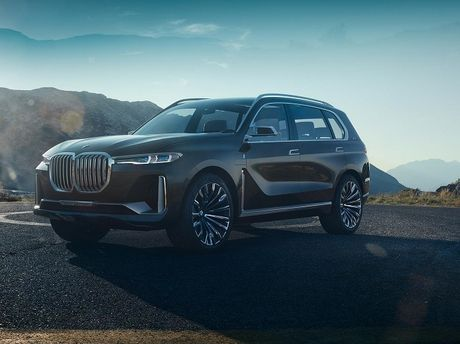 BMW X7 iPerformance xuat hien: To lon va sang trong - Anh 3