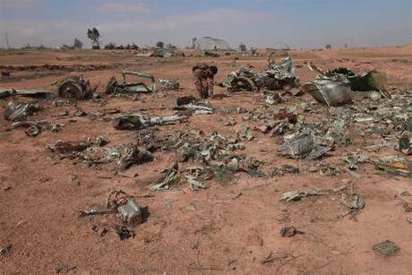 Bo Quoc phong Nga bac bo viec oanh kich vao luc luong SDF doi lap o Syria - Anh 1