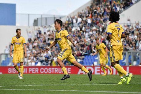'Tieu Messi' thang hoa, Juventus thang Sassuolo 3 - 1 - Anh 1