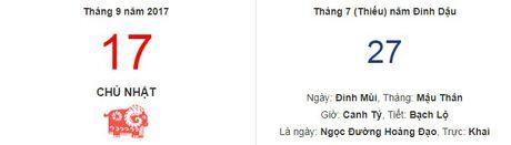Diem tam 17/9: Thuc don cho dan ngu nuong - Bua sang muon va bua trua som - Anh 2