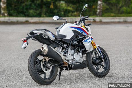 Danh gia BMW Motorrad G 310 R 2017 gia 146 trieu dong - Anh 4