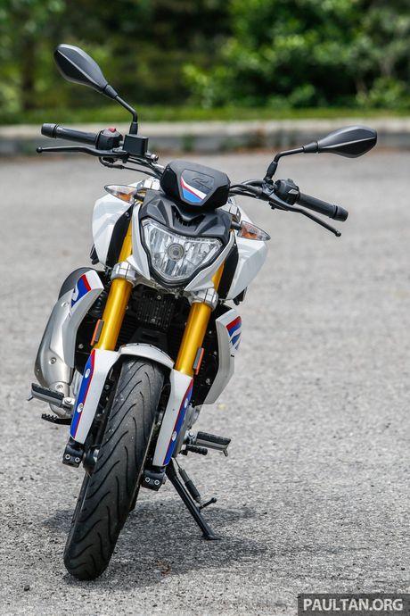 Danh gia BMW Motorrad G 310 R 2017 gia 146 trieu dong - Anh 5