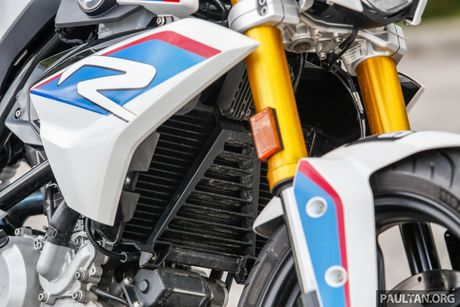Danh gia BMW Motorrad G 310 R 2017 gia 146 trieu dong - Anh 6