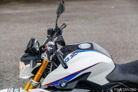 Danh gia BMW Motorrad G 310 R 2017 gia 146 trieu dong - Anh 8