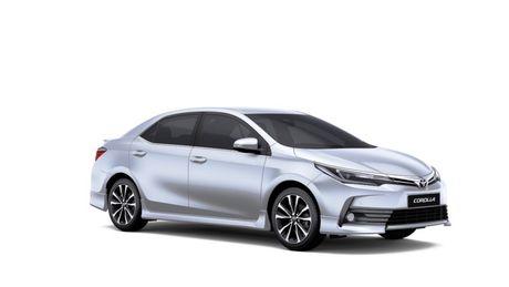 Bảng giá chi tiết Toyota Corolla Altis 2017 mới nhất trong tháng 9 2017