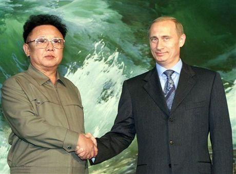 Cach day 16 nam, ong Kim Jong-il tiet lo voi Tong thong Putin thong tin 'doc' - Anh 1