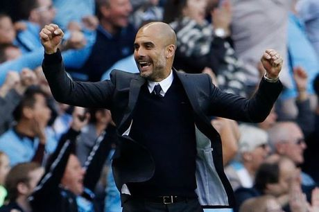 Pep Guardiola: 'Toi khong the ngung phan khich khi Man City choi qua hay' - Anh 2