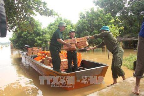 Vao vung ron lu Thach Dinh, Thanh Hoa - Anh 2