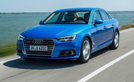 Bang gia xe o to Audi thang 10/2017: A4, A6, Q7 giam toi 160 trieu dong - Anh 1
