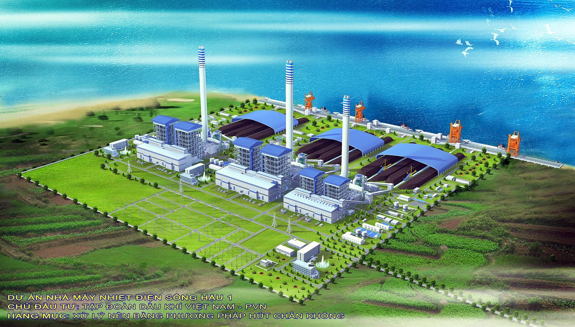 Tìm kiếm doanh nghiệp tiêu thụ tro, xỉ Nhà máy nhiệt điện Sông Hậu 1