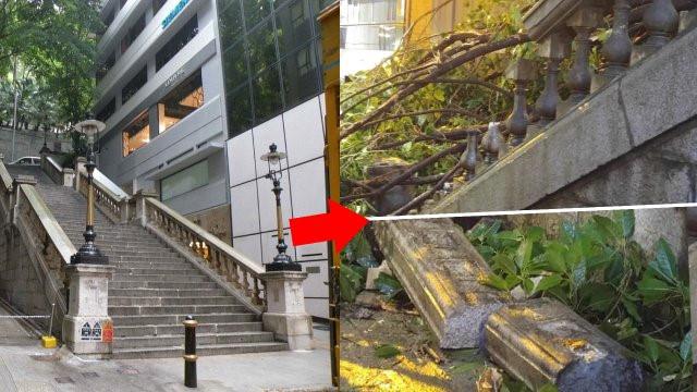 Điểm quay phim của Châu Tinh Trì và TVB bị bão Mangkhut đánh sập Ảnh 5