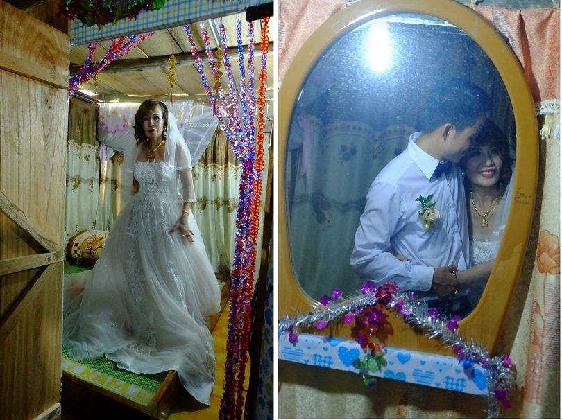 Cô dâu 62 tuổi mặc váy cưới, lội qua 3 con suối về nhà chồng trong niềm hân hoan Ảnh 9