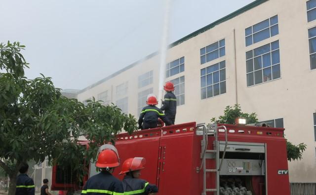 Điểm sáng trong thực hiện an toàn vệ sinh lao động - phòng chống cháy nổ Ảnh 1