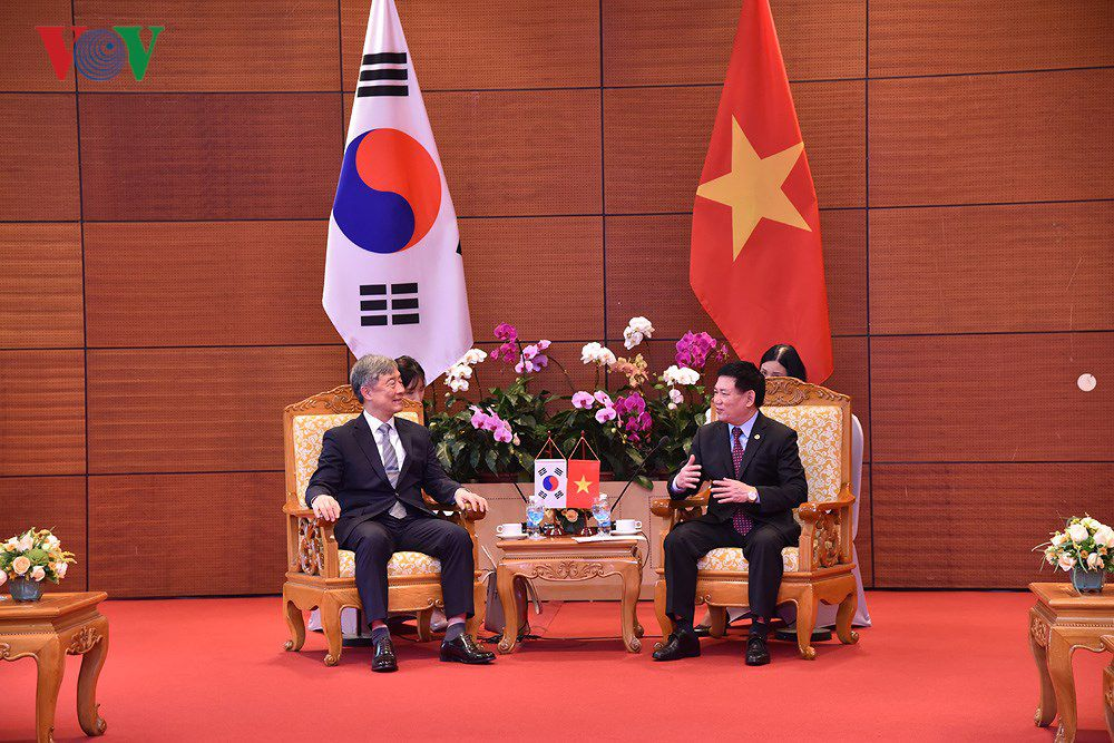 Tổng Kiểm toán Nhà nước Việt Nam hội đàm Tổng Thư ký ASOSAI Ảnh 1