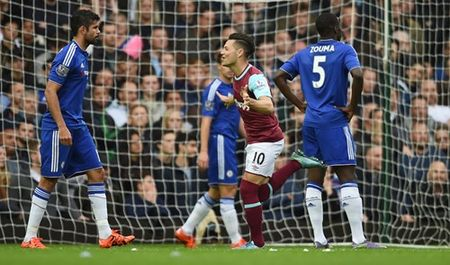 TRUC TIEP West Ham - Chelsea: 'The Blues' bi thung luoi - Anh 2