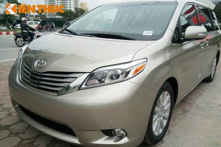 Toyota Sienna Limited 2016 gia 3,3 ty dong tai Ha Noi - Anh 14