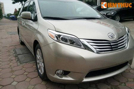 Toyota Sienna Limited 2016 gia 3,3 ty dong tai Ha Noi - Anh 1