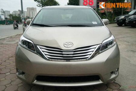 Toyota Sienna Limited 2016 gia 3,3 ty dong tai Ha Noi - Anh 2