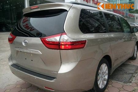 Toyota Sienna Limited 2016 gia 3,3 ty dong tai Ha Noi - Anh 4