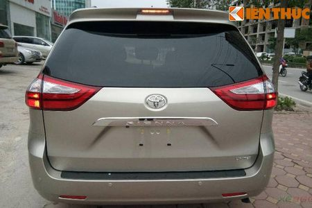Toyota Sienna Limited 2016 gia 3,3 ty dong tai Ha Noi - Anh 5