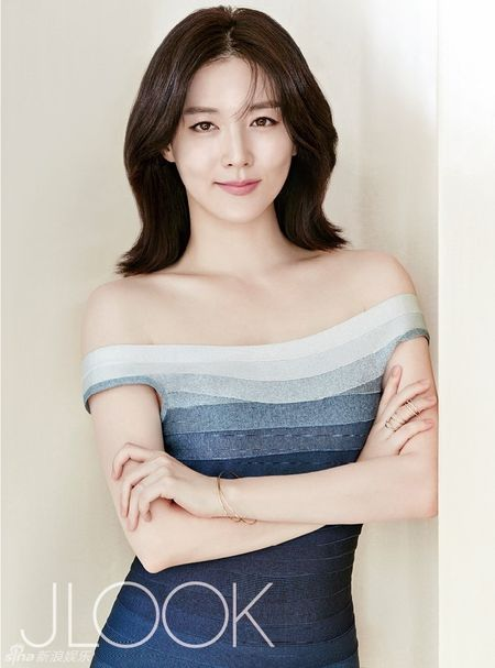 Lee Young Ae tre trung o tuoi 45 - Anh 1