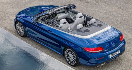 Mercedes-Benz trinh lang C-Class Cabriolet - Anh 3