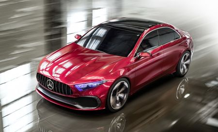 Can canh Mercedes-Benz Concept A sedan - Anh 5