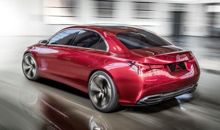 Can canh Mercedes-Benz Concept A sedan - Anh 7