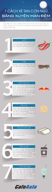 7 cách xé tan cơn ngủ băng xuyên màn đêm