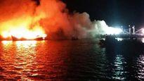 3 tàu cá bốc cháy ngùn ngụt, thiệt hại hơn 30 tỷ đồng
