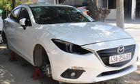 Đà Nẵng: Bắt giữ đối tượng lừa đảo, gỡ đèn và bánh xe ô tô Mazda3 đem bán