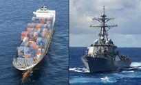Vụ tàu khu trục Mỹ bị đâm móp: Thủy thủ tàu hàng Philippines báo tin chậm một giờ