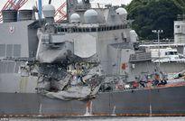 Thủy thủ Mỹ xả thân cứu 20 đồng đội trong vụ va chạm tàu hàng Philippines