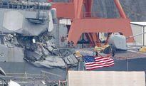 Lời khai:Tàu container đã bắn pháo sáng nhưng chiến hạm Mỹ không phản ứng