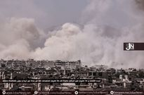 Syia: Rực lửa chiến trường ngoại vi Damascus (video)
