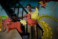 Làng lồng đèn giấy kiếng hồi sinh giữa Sài Gòn
