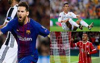 Đội hình tiêu biểu vòng 1 Champions League: Có Messi, không Ronaldo