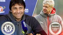 Chelsea - Arsenal: Wenger cúi đầu trước Conte?