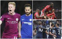 BXH vòng 7 Premier League: Thắng lớn, MU vẫn xếp dưới Man City