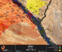 Nga yểm trợ mãnh liệt, quân đội Syria tung đòn tấn công IS dọc Euphrates