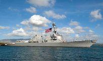 Tàu khu trục Mỹ lại tuần tra ở Quần đảo Hoàng Sa