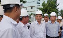 Tân bí thư Đà Nẵng kiểm tra tiến độ hầm chui phục vụ APEC