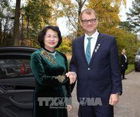 Phó Chủ tịch nước Đặng Thị Ngọc Thịnh thăm làm việc tại Phần Lan