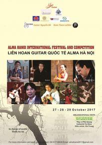 Liên hoan guitar cổ điển Festival 'Alma Hanoi'