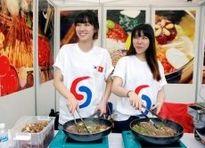Lễ hội Văn hóa và Ẩm thực Việt Nam - Hàn Quốc thu hút 70 gian hàng tham dự