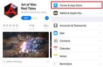 Hướng dẫn vô hiệu hóa tự động phát video trên App Store