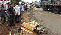 Xe tải tông xe đạp điện, nam sinh lớp 9 chết thảm