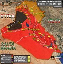 Quân đội Iraq chiếm hầu hết các địa bàn chiến lược của người Kurd