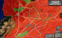 Chiến sự Syria: Quân Assad đè bẹp IS, giải phóng hoàn toàn sa mạc đông Hama, Homs