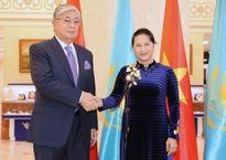 Chủ tịch QH Nguyễn Thị Kim Ngân hội đàm, hội kiến các nhà lãnh đạo Ca-dắc-xtan